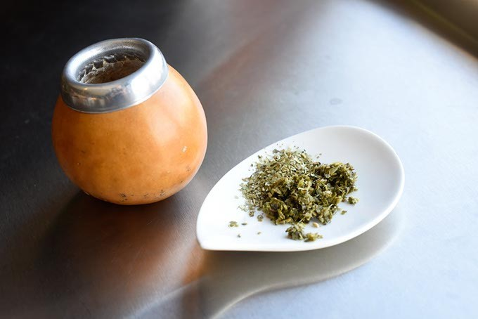 Yerba Maté tea at Urban Tea House, Wednesday, May 11, 2016. - GARETT FISBECK