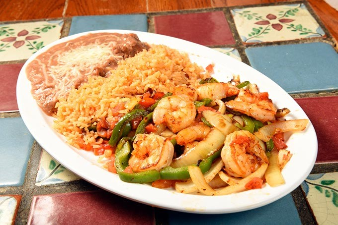 Fajitas de Cameron at Carnitas Michoacan in Edmond, Thursday, May 26, 2016. - GARETT FISBECK