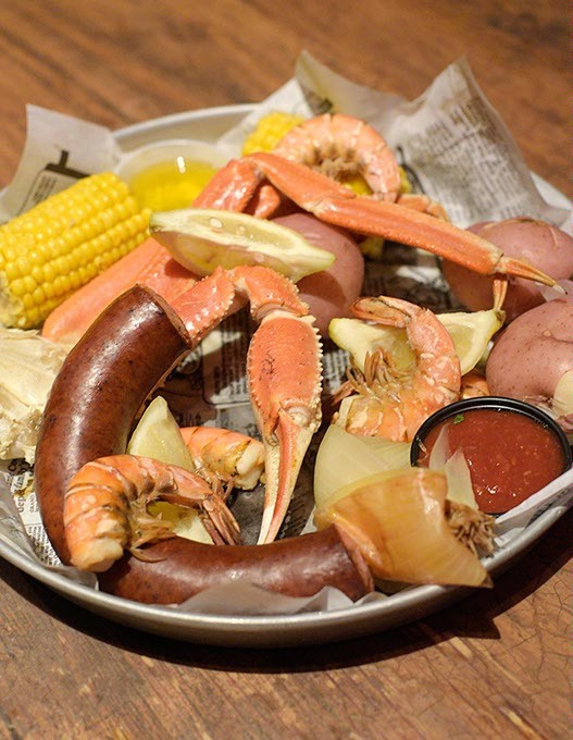 Cajun crab and shrimp boil at Crabtown in Oklahoma City, Thursday, July 21, 2016. - GARETT FISBECK