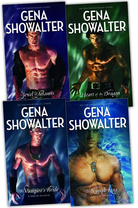 Oklahoma author Gena Showalter's bestselling Atlantis series | Image provided