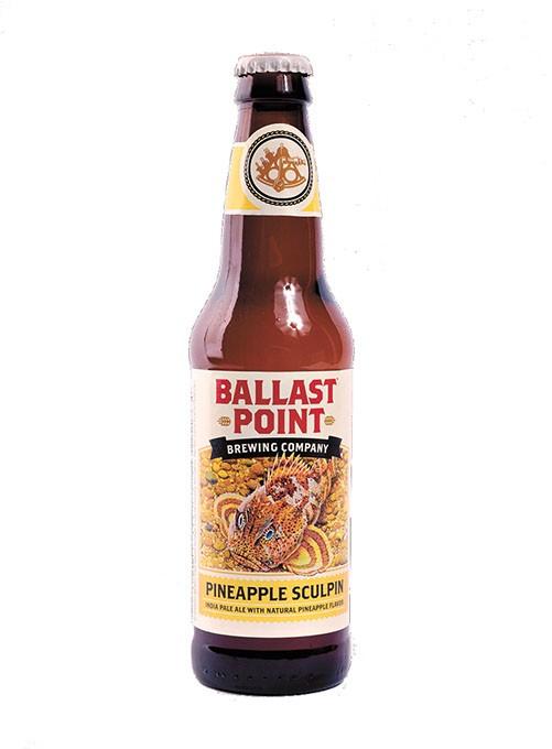 Ballast Point Pineapple Sculpin for Oklahoma Gazette Summer Brew Review 2017. - GARETT FISBECK