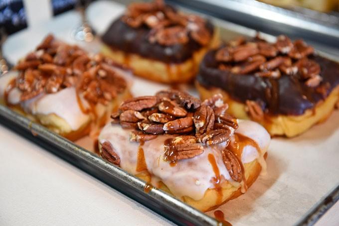 Belle Kitchen caramel pecan doughnut | Photo Garett Fisbeck / file