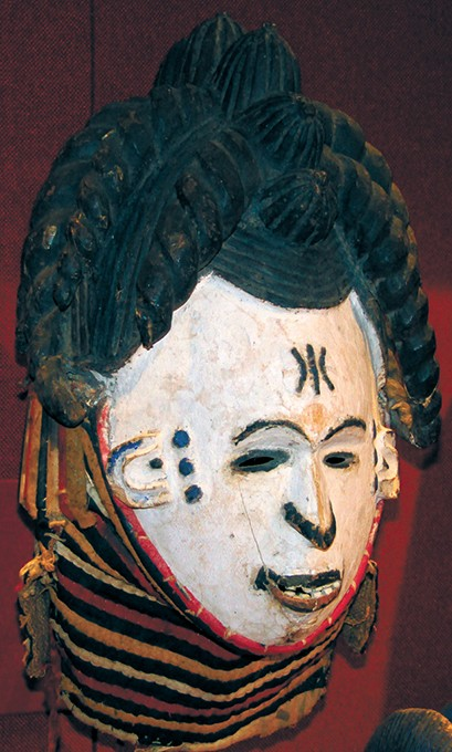 An Igbo maiden mask in Mabee-Gerrer - Museum of Art's permanent collection. - PHOTO MABEE-GERRER MUSEUM OF ART / PROVIDED