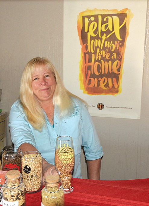 Gail White has owned The Brew Shop since 2010. (Photo Jacob Threadgill)