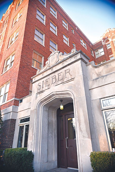 The Sieber, 1305 N. Hudson Ave., is an example of a property renovated to bring 30 apartments and eight loft-style units to Midtown. The Sieber opened in 2006. Its developer, Marva Ellard, is now moving forward in the redevelopment of the former Villa Teresa school.   Photo Laura Eastes