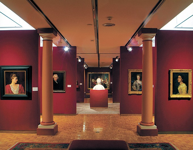 The gallery space inside Mabee-Gerrer Museum of Art includes paintings, sculptures and cultural artifacts from a wide range of places and time periods. - PHOTO MABEE-GERRER MUSEUM OF ART / PROVIDED