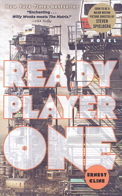 The first section of Ernest Cline's 2011 best seller Ready Player One is set in Oklahoma City in 2044. (Image Random House / provided)