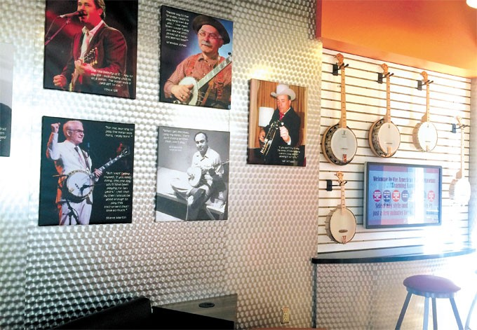 Kirkpatrick Family Fund sponsored a new learning lounge at the American Banjo Museum the weekend of Feb. 10. | Photo provided