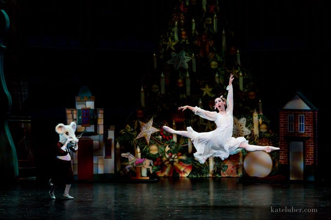 More than 160 dancers and 200 total personnel members are involved with this year's OKC Ballet production of The Nutcracker. | Photo Kate Luber / provided
