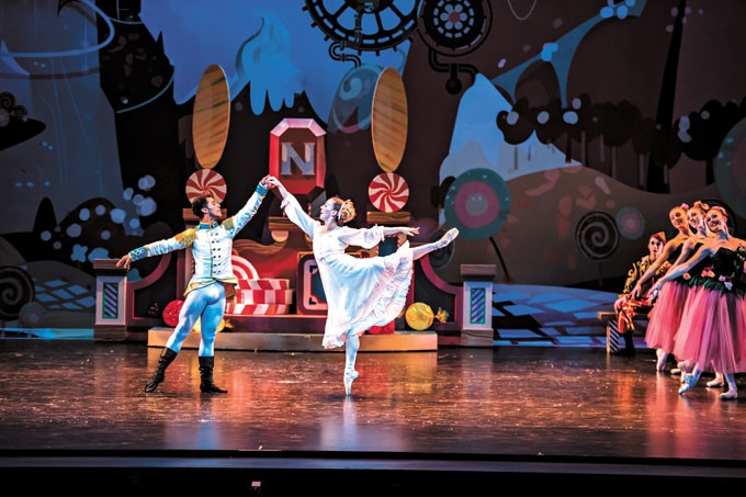 More than 160 dancers and 200 total personnel members are involved with this year's OKC Ballet production of The Nutcracker. | Photo Diana Bittle / provided