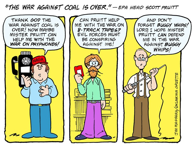 Cartoon: 'The war against coal is over' | Commentary