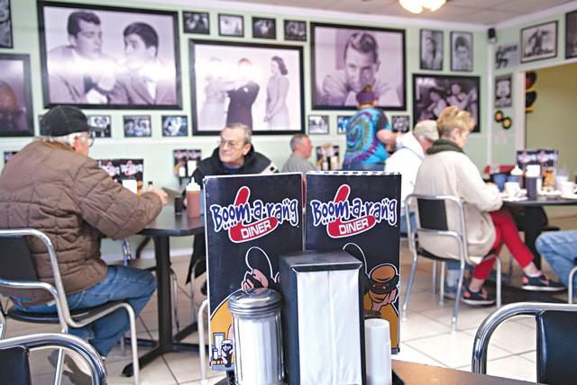 Boom-a-rang Diner (Photo Gazette / file)