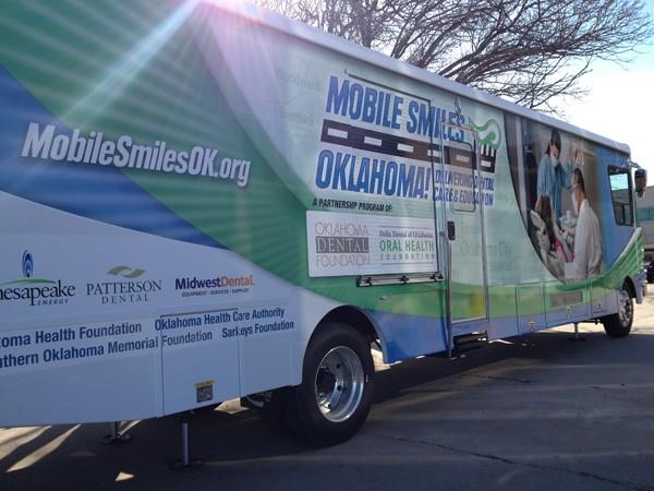 The MobileSmiles program offers dental care for underserved populations in Oklahoma. (MobileSmiles / provided)