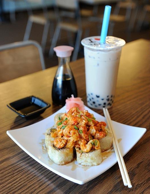Golden Taipei and Black Milk Tea with Boba at Cafe Taipei in Edmond, Wednesday, Jan. 13, 2016. - GARETT FISBECK