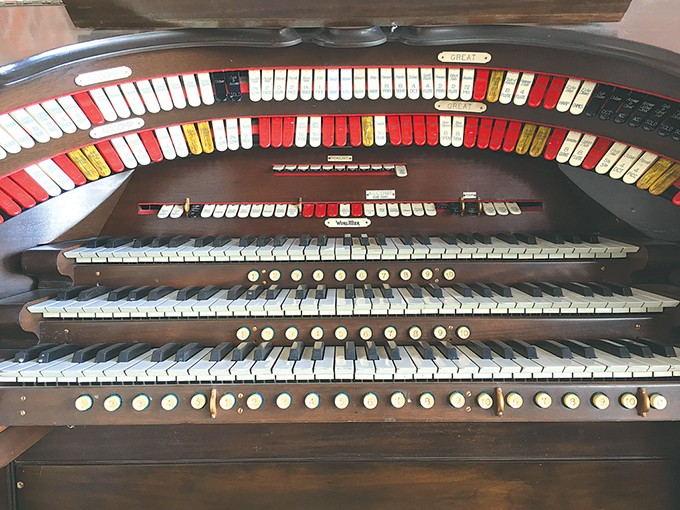 Rodeo Cinema purchased and renovated a vintage organ originally housed in Tulsa's Orpheum Theater. - RODEO CINEMA / PROVIDED