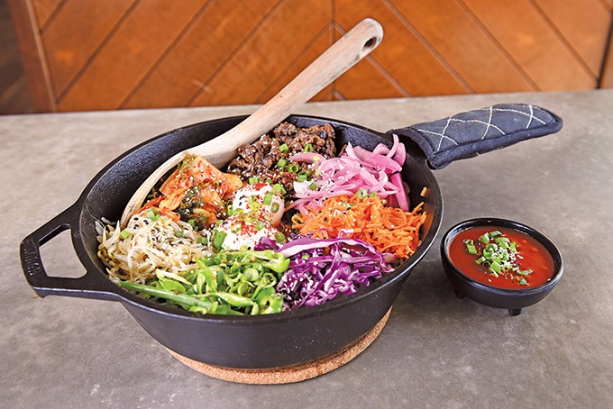 The bibimbap at Chae Modern Korean is making its way on the menu at Ur/bun in the coming months. - GAZETTE / FILE