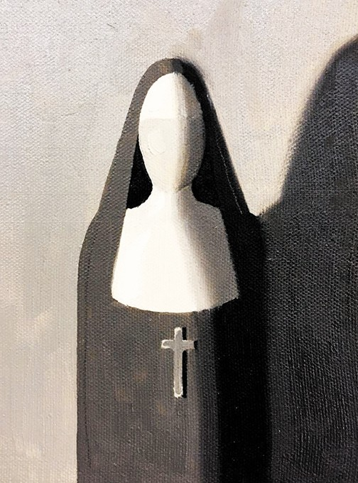"""Nun"" by Tom Ryan - COWBOY & WESTERN HERITAGE MUSEUM / PROVIDED"