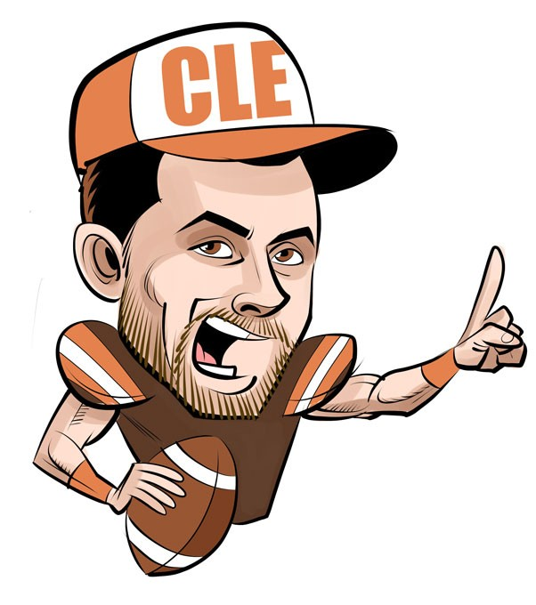 Image result for baker mayfield cartoon