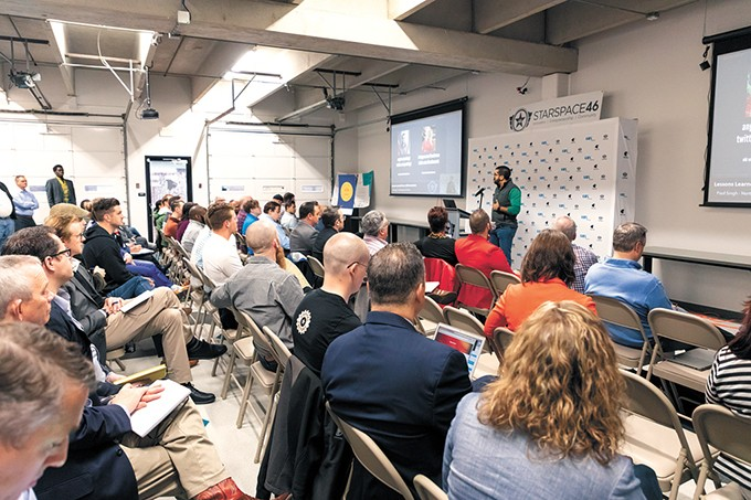 OK Innovate hosted investor and entrepreneur Paul Singh and the Results Junkies for three days of workshops and events about entrepreneurship, innovation and tech in central Oklahoma. - PROVIDED