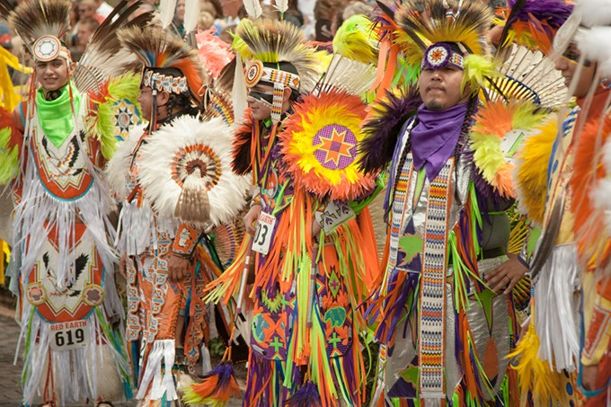 Red Earth Festival's fancy dances are some of the most popular events at the annual gathering. - RED EARTH / PROVIDED