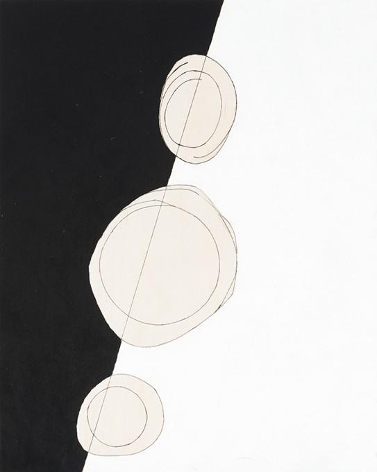 """Field"" details by Paul Moore - FRED JONES JR. MUSEUM OF ART / PROVIDED"