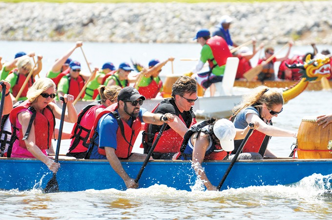 Kayaks will be available to take out for a less challenging excursion during Starts & Stripes River Festival. - GEORGIA READ / RIVERSPORT ADVENTURES / PROVIDED