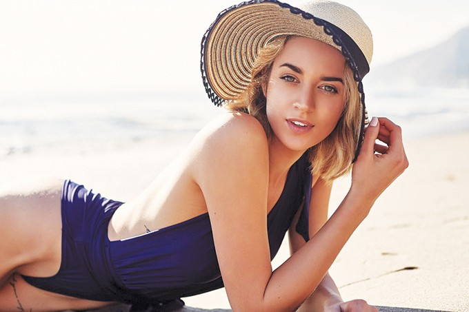 Sports Illustrated model and Oklahoma native Allie Ayers launches her body-positive swimwear line, Bissy Swim, this month. - PHOTO BISSY SWIM / PROVIDED