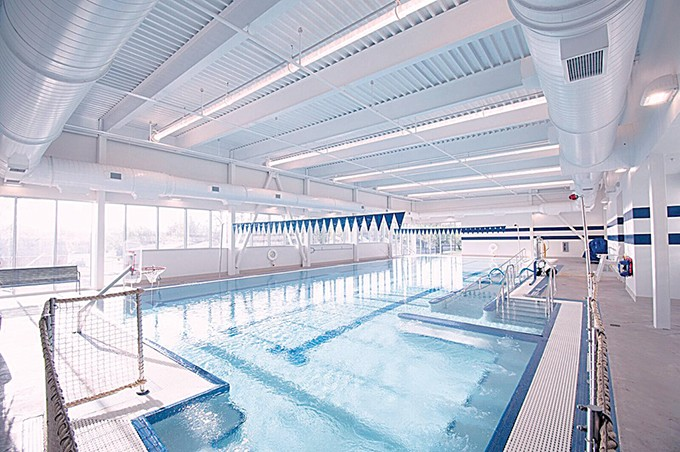 Pete White Center's pool uses a salt-generated chlorine that is easier on swimmers' skin, eyes and hair. - NORTHCARE / PROVIDED