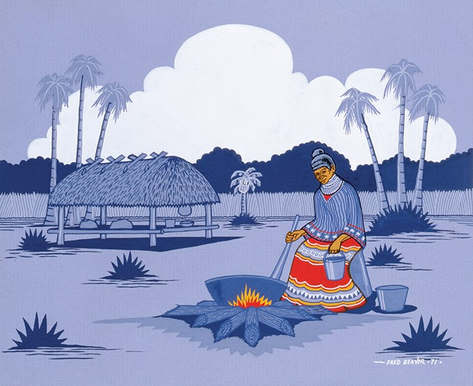 """Seminole Cook"" by Fred Beaver - PROVIDED"