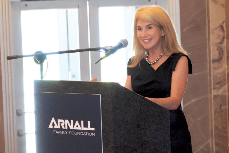 Sue Ann Arnall of the Arnall Family Foundation - PROVIDED