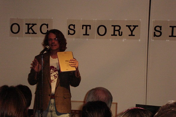 Writer and performer Stephen Kovash helped organize The Literati Variety Show. - PROVIDED