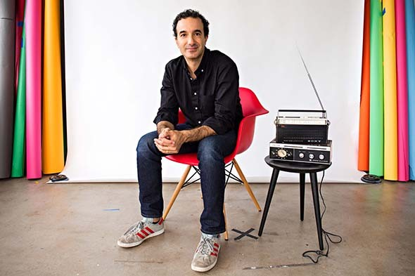Radiolab cohost Jad Abumrad is scheduled to deliver his multimedia presentation Gut Churn at the inaugural Curiosity Fest Oct. 20 at Civic Center Music Hall. - LIZZY JOHNSTON / PROVIDED