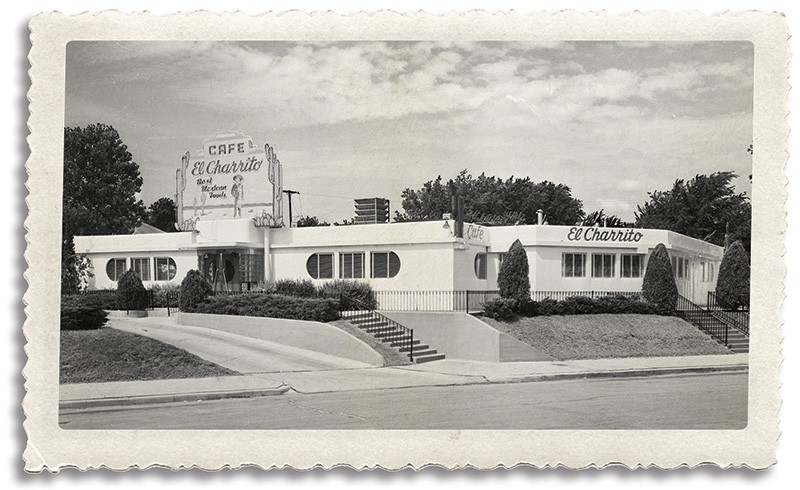 El Charrito, one of Oklahoma City's first Mexican restaurants, was located in the building that currently houses Paseo Grill, 2909 Paseo St. - PROVIDED