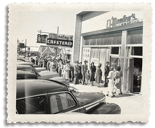 "Demographic changes in Oklahoma contributed to Oklahoma City being designated the ""cafeteria capital of the country."" - OKLAHOMA HISTORICAL SOCIETY / PROVIDED"