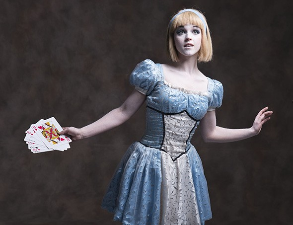 Laura Hunt played the title role in the Kansas City Ballet production of Alice (in Wonderland). - KENNY JOHNSON / PROVIDED