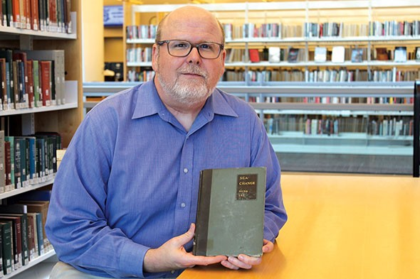 """Larry """"Buddy"""" Johnson, special collections manager at Metropolitan Library System, is an expert on more obscure Oklahoma writers such as Muna Lee. - METROPOLITAN LIBRARY SYSTEM / PROVIDED"""