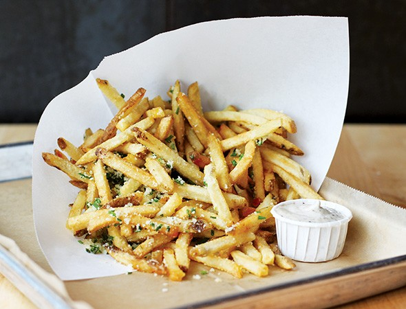 Parmesan and truffle oil Kennebec fries - ALEXA ACE