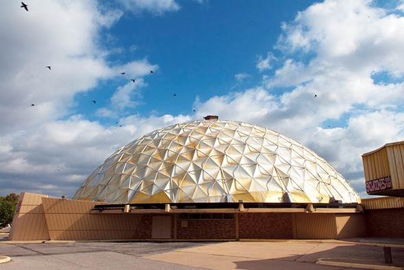The historic Gold Dome will host the Haunt the Dome fundraiser Oct. 27. - GAZETTE / FILE