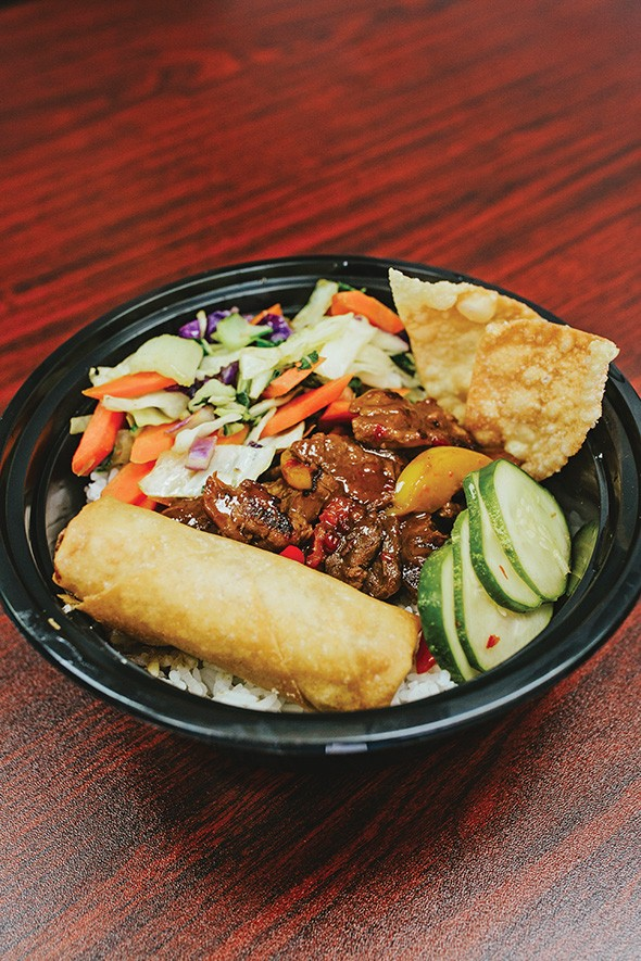 The Shangri-La beef bowl from Chop Chop: Flavors of Asia - ALEXA ACE