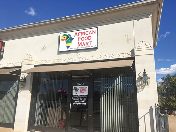 Kafutoh African Food Mart is located at 16600 N. Western Ave. in Edmond - JACOB THREADGILL