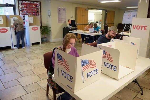 According to Cleveland and Oklahoma county election officials, election processes worked as planned on Nov. 6. - PHOTO GAZETTE / FILE