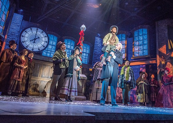 A Christmas Carol is scheduled to run Nov. 23-Dec. 4 at Lyric at the Plaza, 1727 NW 16th St. - PROVIDED