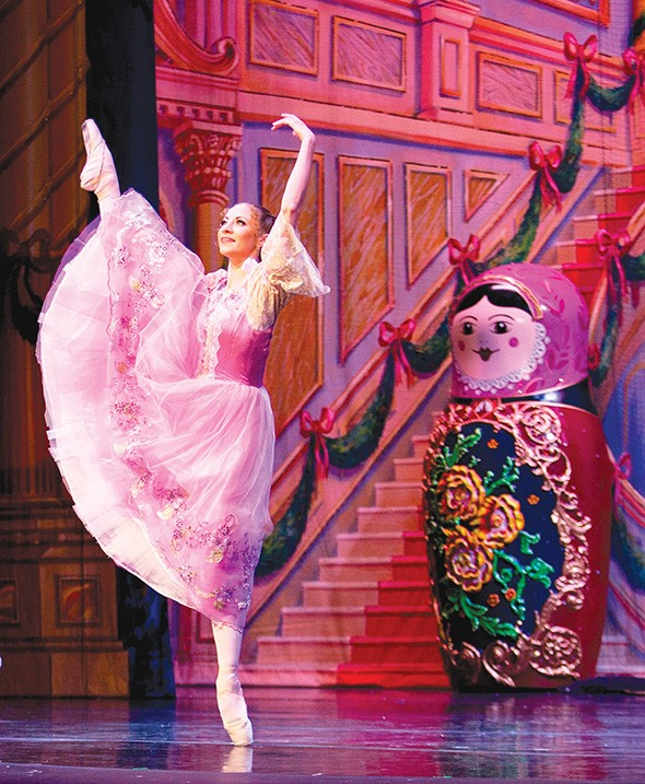 In Great Russian Nutcracker, Masha replaces Clara in the lead role. - MOSCOW BALLET / PROVIDED