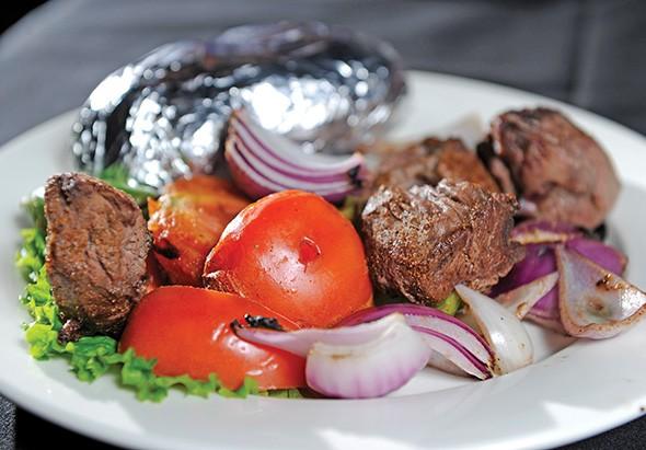 Jamil's beef kebab - GAZETTE / FILE
