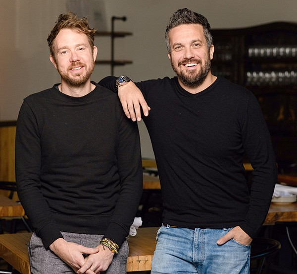 Chefs Jonathon Stranger and Fabio Viviani partnered to open Osteria OKC in Nichols Hills. - PROVIDED