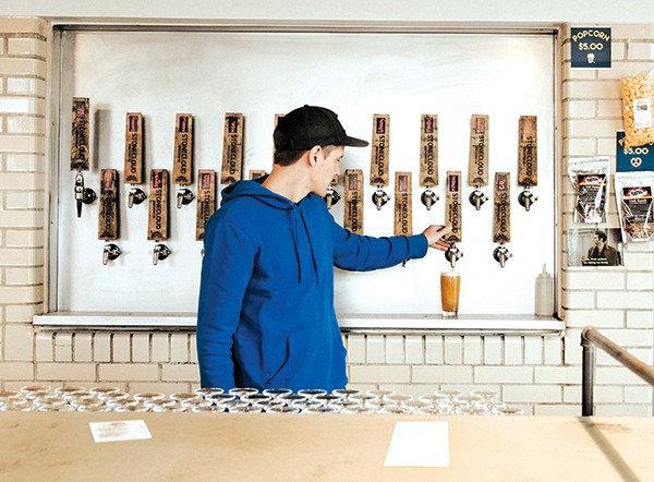 """Stonecloud owner Joel Irby's beer style is """"anything goes as long as it's not boring."""" - ALEXA ACE"""