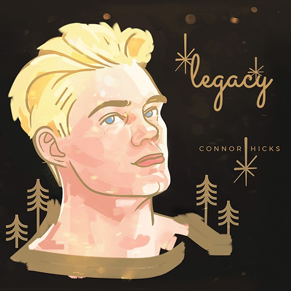 Legacy, compiling Hicks' debut EP Savior and several previously unreleased songs, was released in December. - PROVIDED