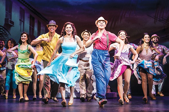On Your Feet! covers Gloria and Emilio Estefan's lives, from courtship to their chart-dominating period. - MATTHEW MURPHY / PROVIDED