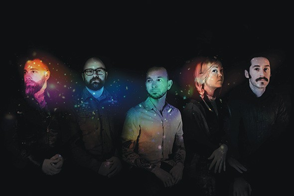 Murder by Death's new album, The Other Shore, depicts an apocalypse that sends struggling Earth dwellers in search of life on Mars. - MARA BATTISTE / PROVIDED