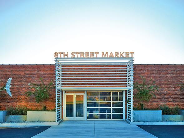 8th Street Market is a finalist for ULI Oklahoma's Small Scale Rehabilitation and Restoration Award. - ULI OKLAHOMA / PROVIDED